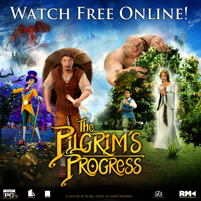 """Just in Time for Easter, """"THE PILGRIM'S PROGRESS"""" Now Streaming Free of Charge in 9 Languages"""